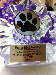 Way to go, Sam!